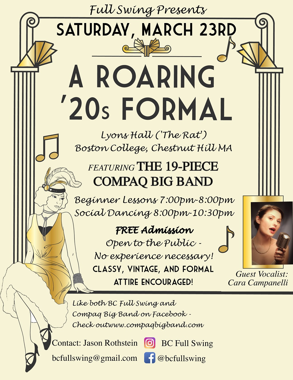 March 23 2019 A Roaring 20s Formal Swing Dance By Bc Full